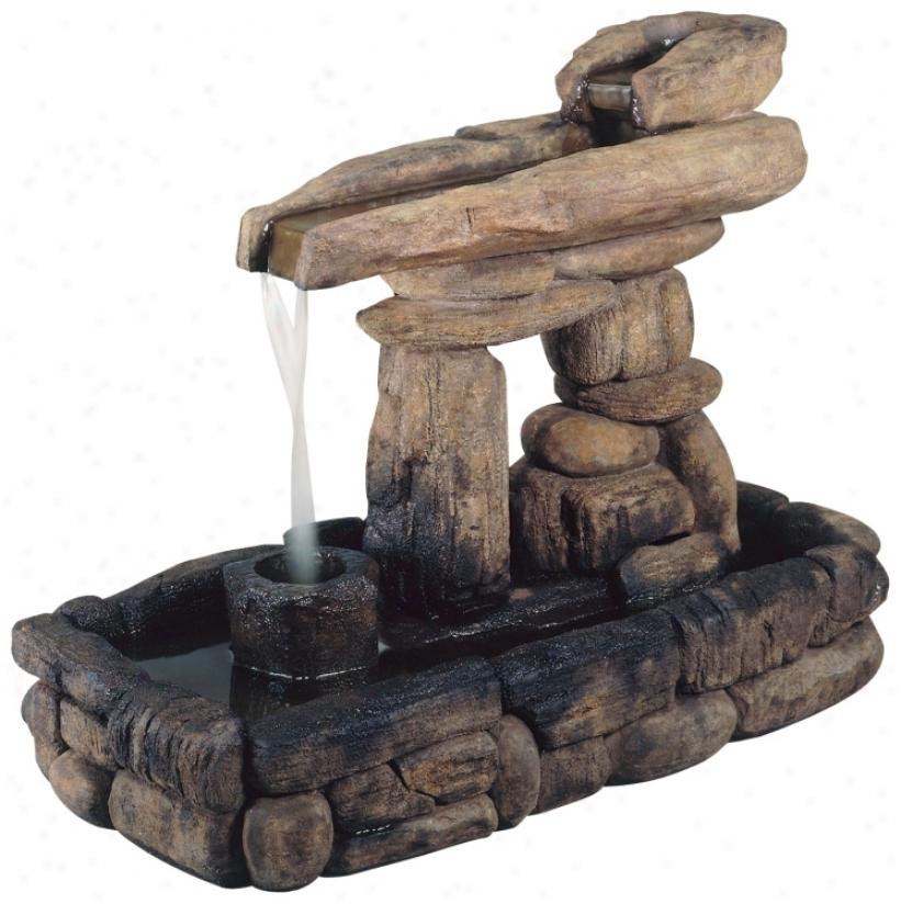Henri Studios Stone Foration Fountain (79896)