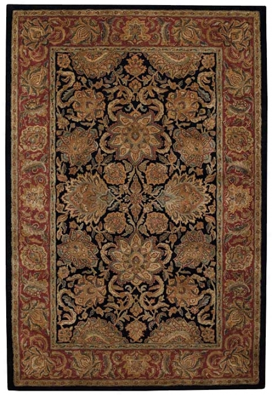 Herbas Royal Blue Area Rug (92018)