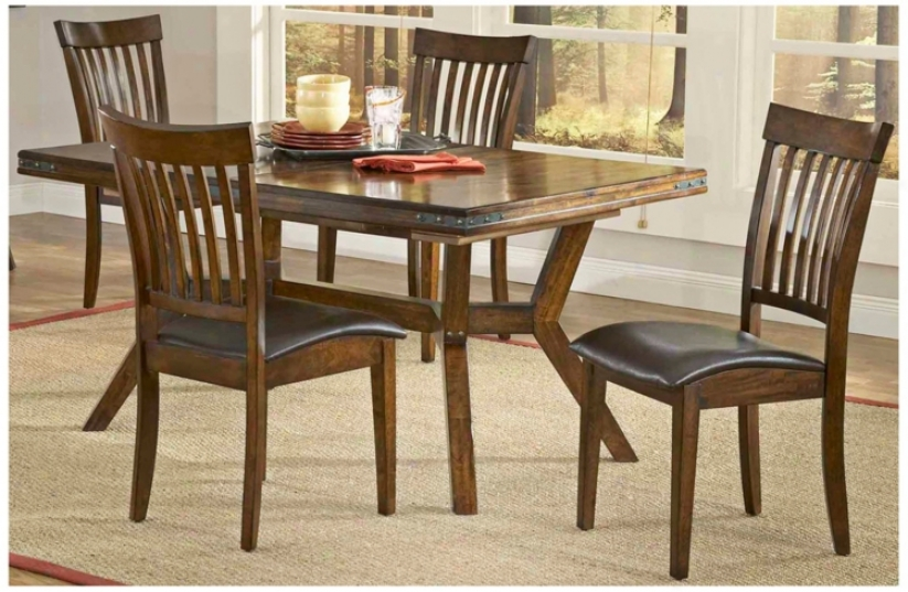 Hillscale Arbor Hill Colleection 5 Piece Dining Set (t5431)