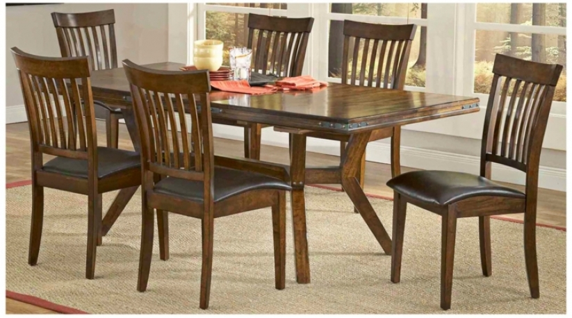 Hillsdale Arbor Hill Collection 7 Piece Dining Set (t5432)