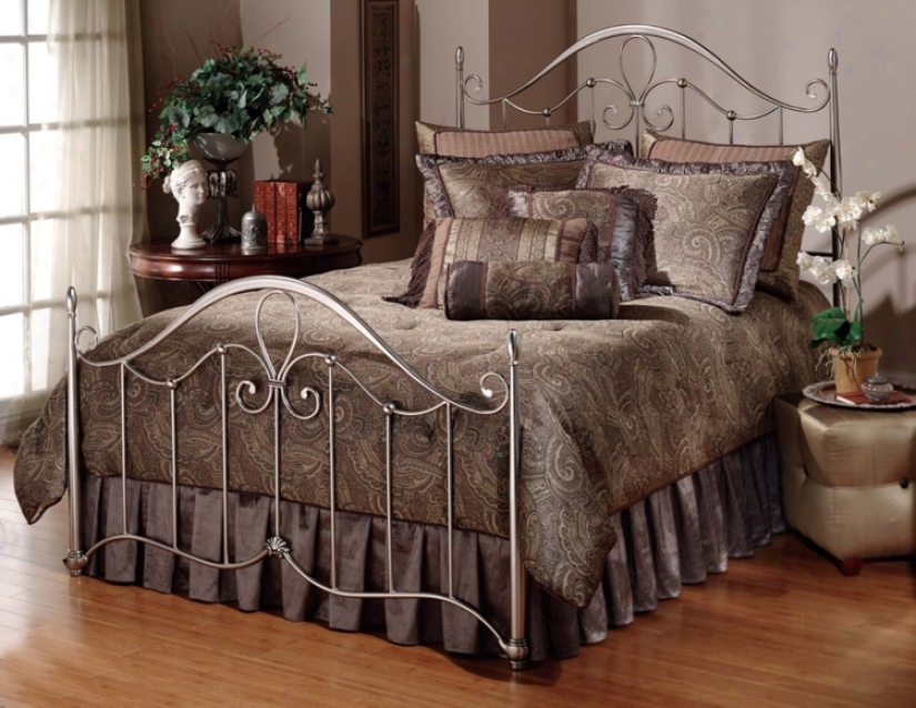Hillsdale Doheny Antique Pewter Bed (full) (t4180)