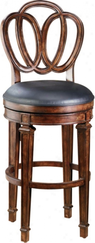 """Hillsdale Dover Swivel 27"""" High Counter Stool (f8455)"""