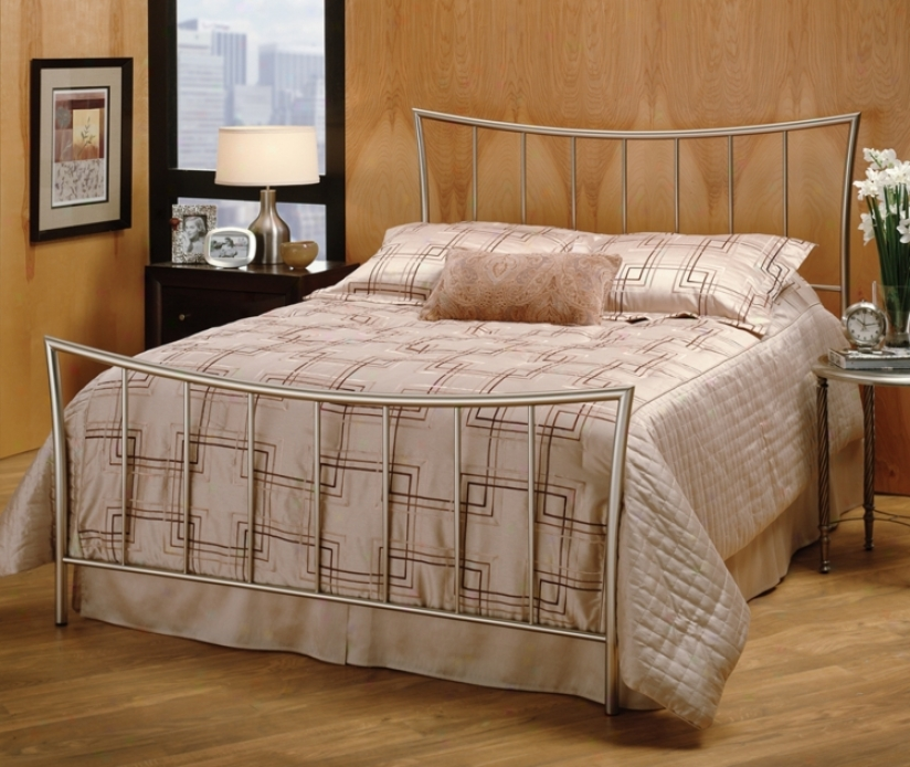 Hillsdale Eva Nickel Bed (full)) (t4207)