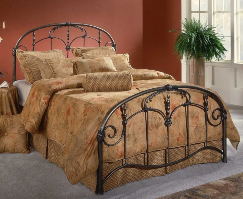 Hillssdale Jacqueline Scroll And Spindle Bed (queen) (m6501)