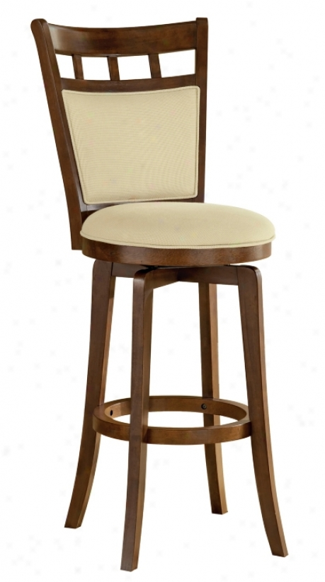 "Hillsdale Jefferson Swivel 24"" High Counter Stool (k8878)"