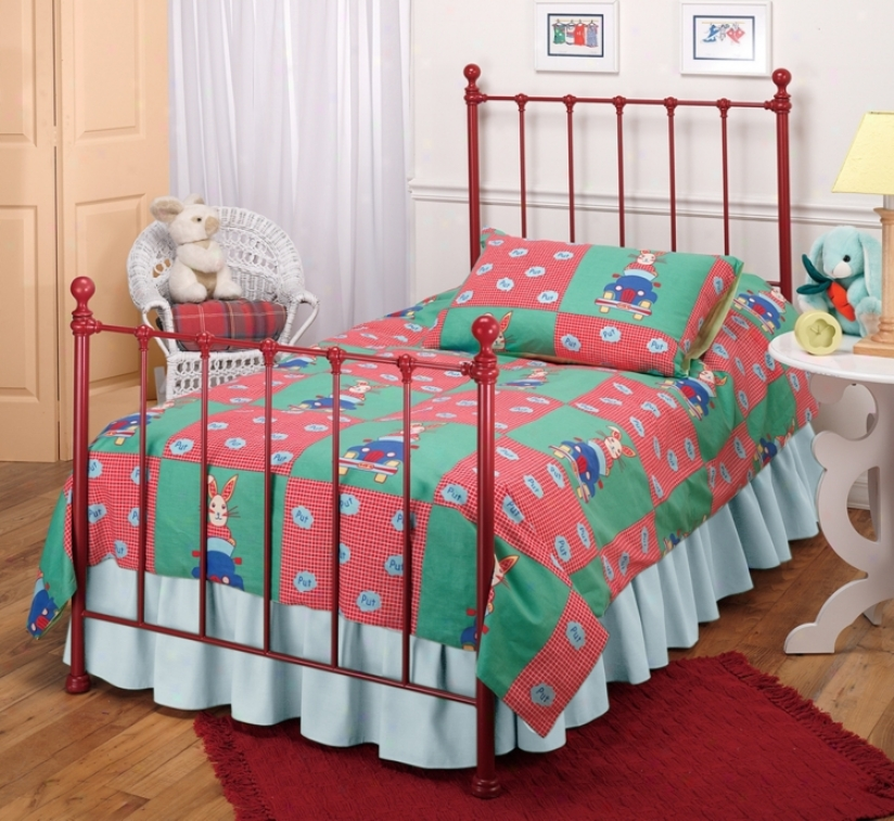 Hillsdale Molly Red Bed (twin) (t3417)