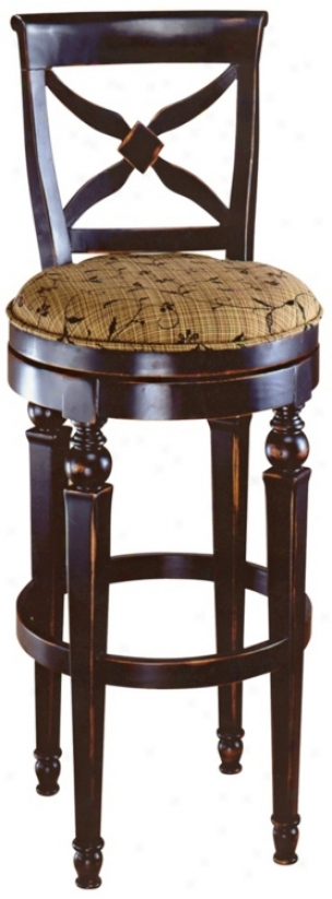 "Hillsdale Normandy Swivel 26"" High Counter Stool (k9017)"