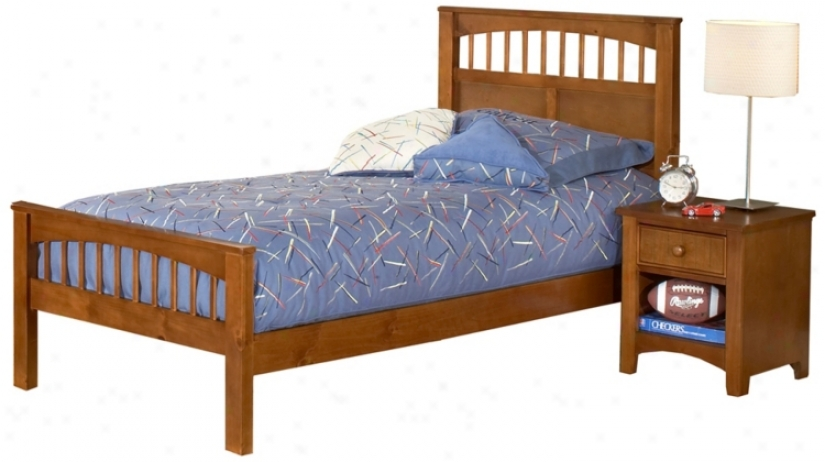 Hillsdale Taylor Falls Pine Wood Bed (twin) (t4365)