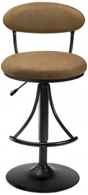 Hillsdale Venus Bear Adjustable Bar Stool Or Counter Stool (k8988)