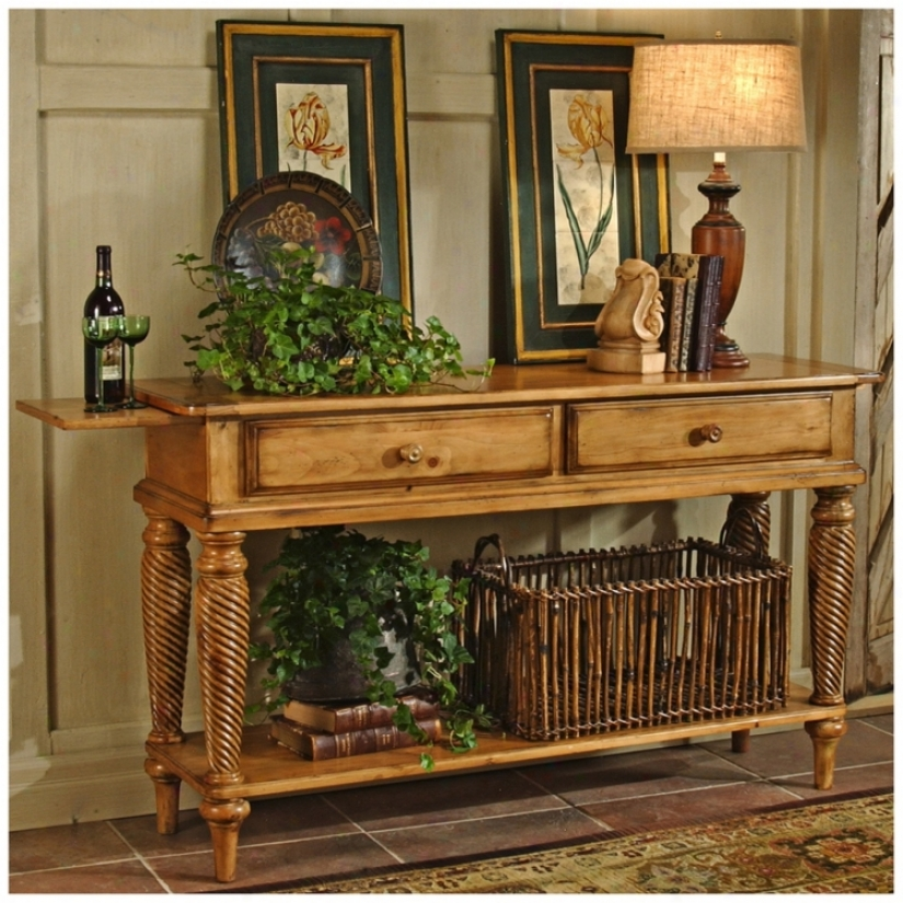 Hillsdale Wilshire Pine Finish Sideboard Table (t5548)