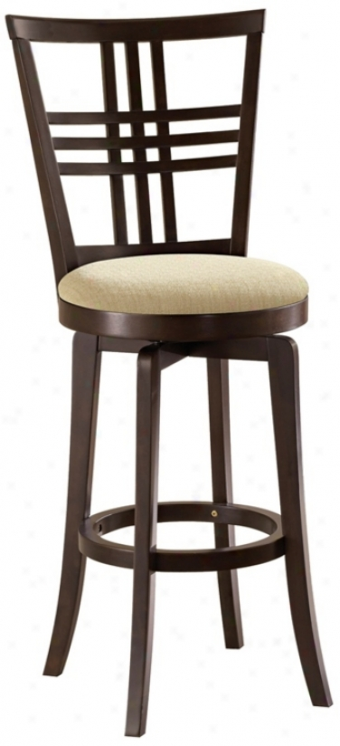 "Hillsdaletiburon Ii Swivel 24"" High Counter Stool (k9026)"