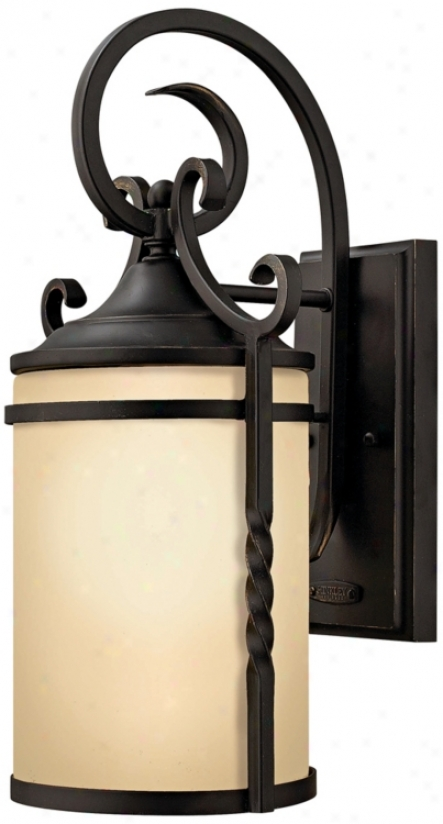 "Hinkley Casa Collection 13"" High Outdoor Wall Light (k0752)"