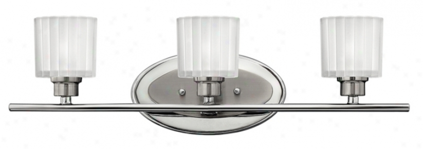 "Hinkley Gretta Collection 3-light 20"" Wide Bath Light (14309)"