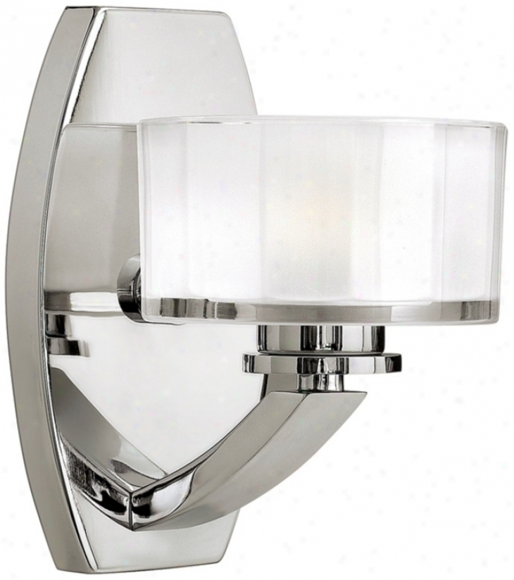 "Hinkley Meridian Collection 8"" High Wall Sconce (m5843)"