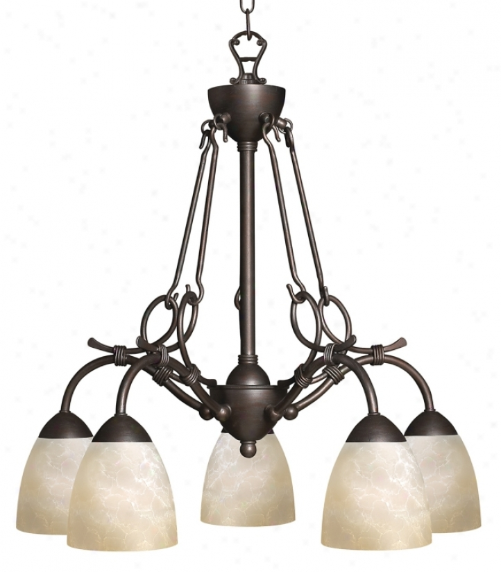 Hinkley Portofino Collection Five Light Chandelier (61994)