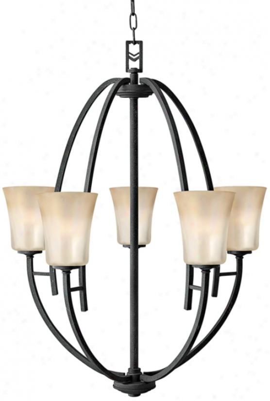 Hinkley Vallye Colleciton Five Light Dpme Chandelier (h2439)