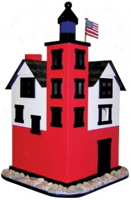 Historic Lighthouse Bird House (h9569)