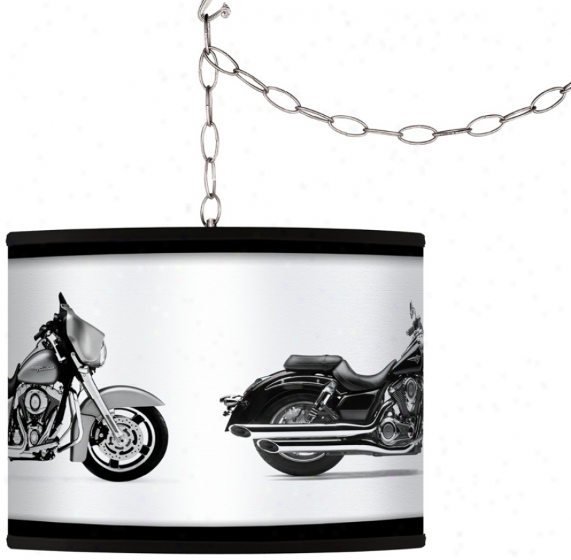 Hit The Road Custom Gicled Swag Style Plug-in Chandelier (f9542-h6258)