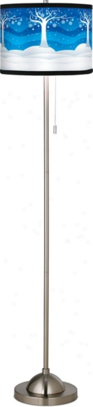 Holiday Christmas Dreams Giclee Floor Lamp (99185-f2167)