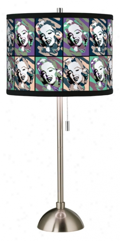Hollywood Dreams I Giclee Art Obscure Table Lamp (60757-00069)