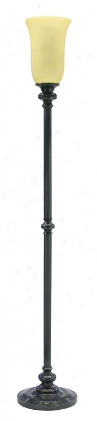 House Of Troy Newport Oil Rubbed Bronzetorchiere Floor Lamp (842344)