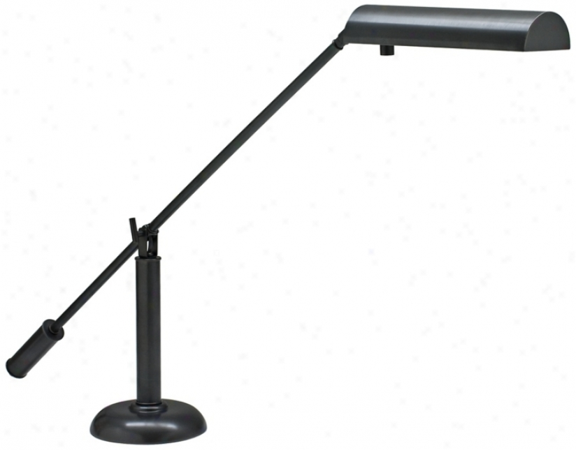 House Of Troy Oil-rubbed Bronze Counter Balance Piano Lamp (r3496)