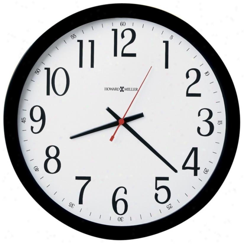 "Howard Miller 16"" Wide Gallery Wall Clock (m8737)"