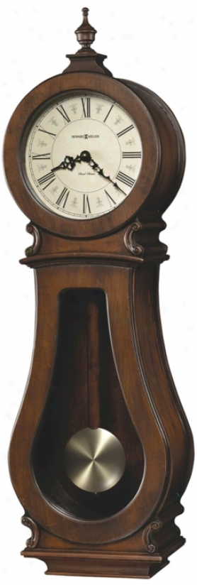 "Howard Miller Adrenal 29 1/2"" High Wall Clock (m8831)"