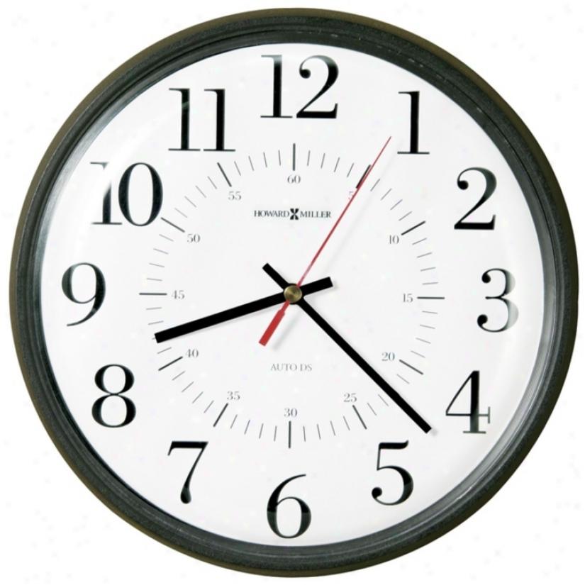 Howard Miller Alton Wall Clock (m8783)