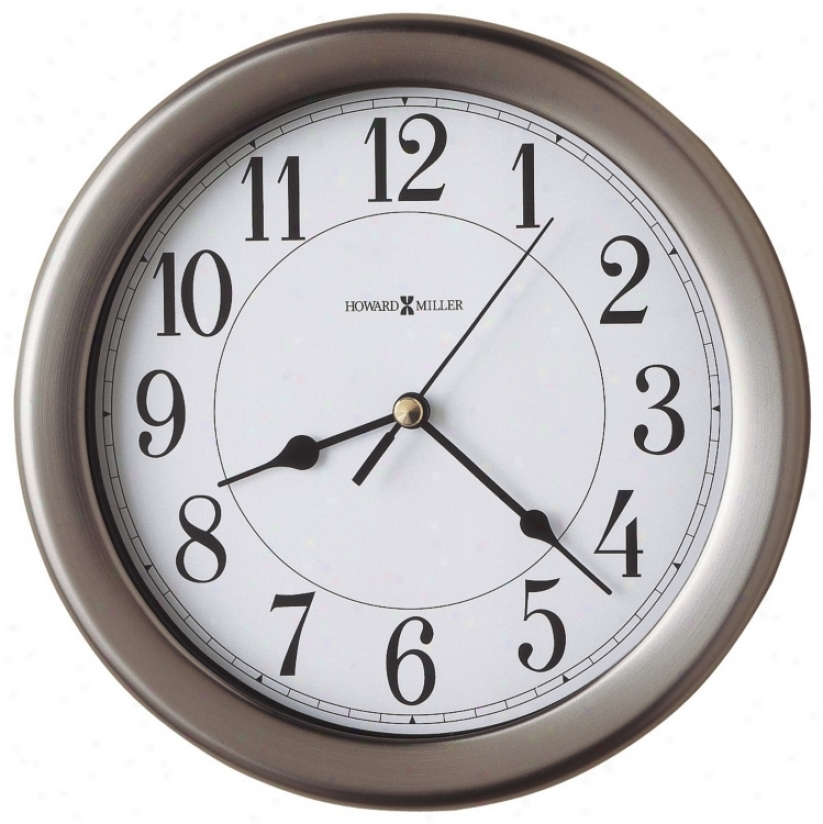 "Howard Miller Aries 8 1/2"" Wide Wall Clock (m8776)"