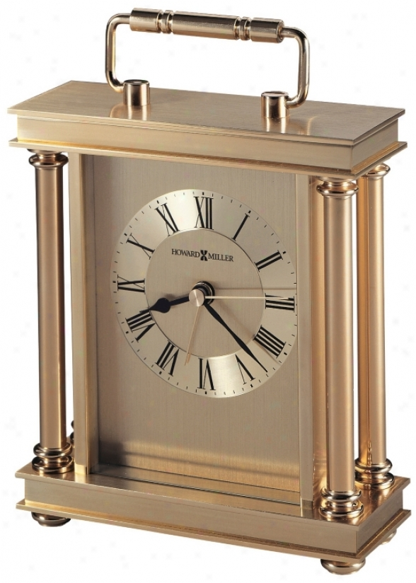 "Howard Miller Audra 7 1/2"" High Allarm Clock (r4891)"