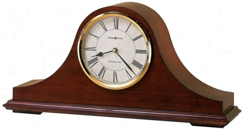 "Howard Miller Christopher 17 3/4"" Tabletop Clock (r3967)"