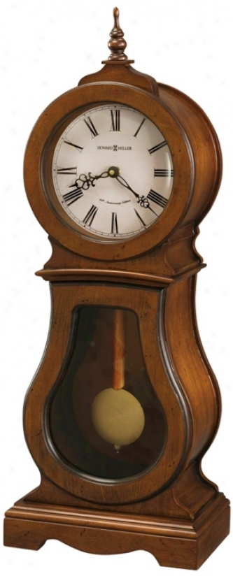"Howard Miller Cleo 24 1/4"" High Mantel Clock (r4933)"