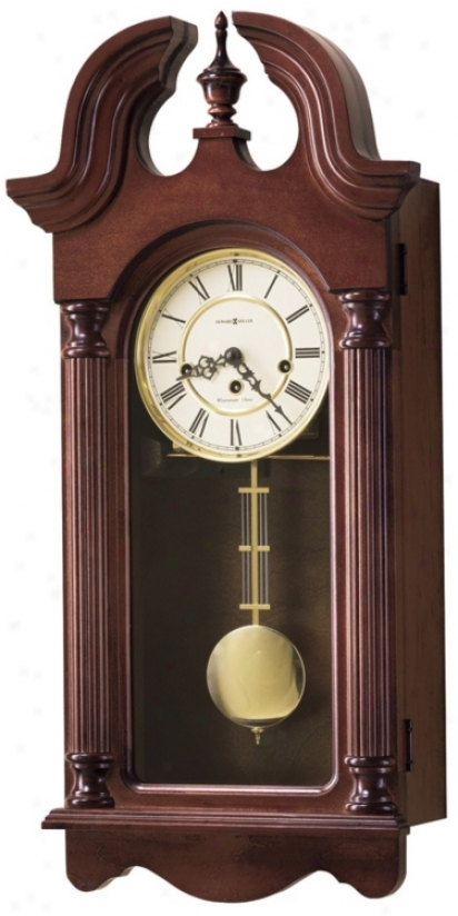Howard Miller David 26 3/4&quot ;High Wall Clock (m8723)