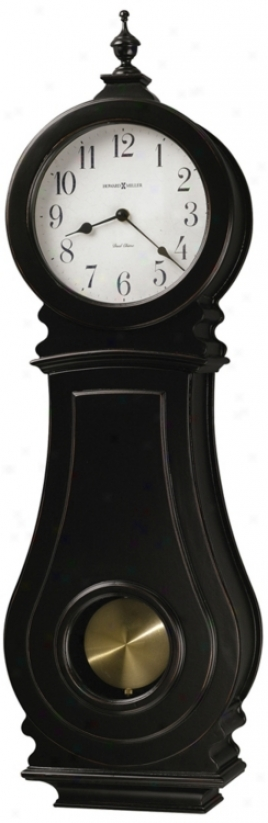 Hoaard Miller Dorchester 29 1/2&quor; High Wall Clock (m8974)