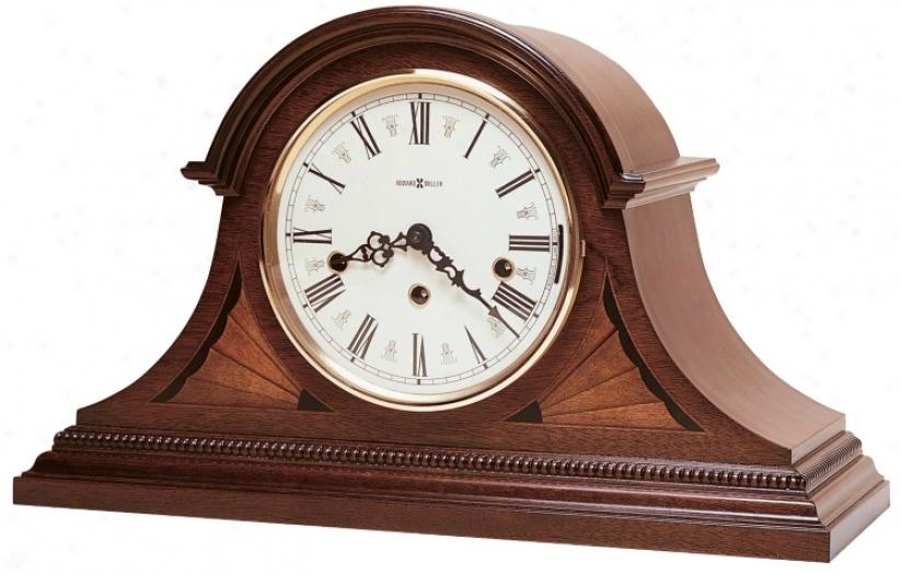 """Howard Miller Downing 18"""" Widetabletop Clock (r3931)"""