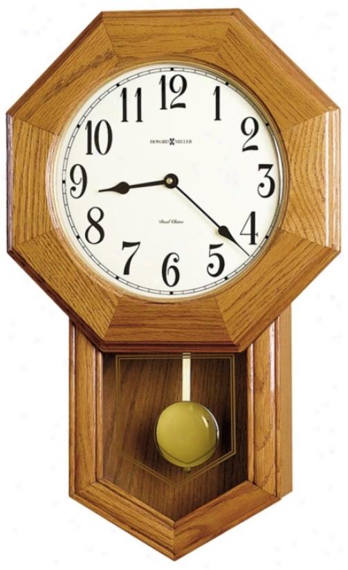 "Howard Mille Elliott 21 3/4"" Hivh Wall Clock (m8752)"