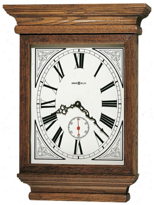 "Howard Mil1er Fables 19"" High Wall Clock (m8709)"