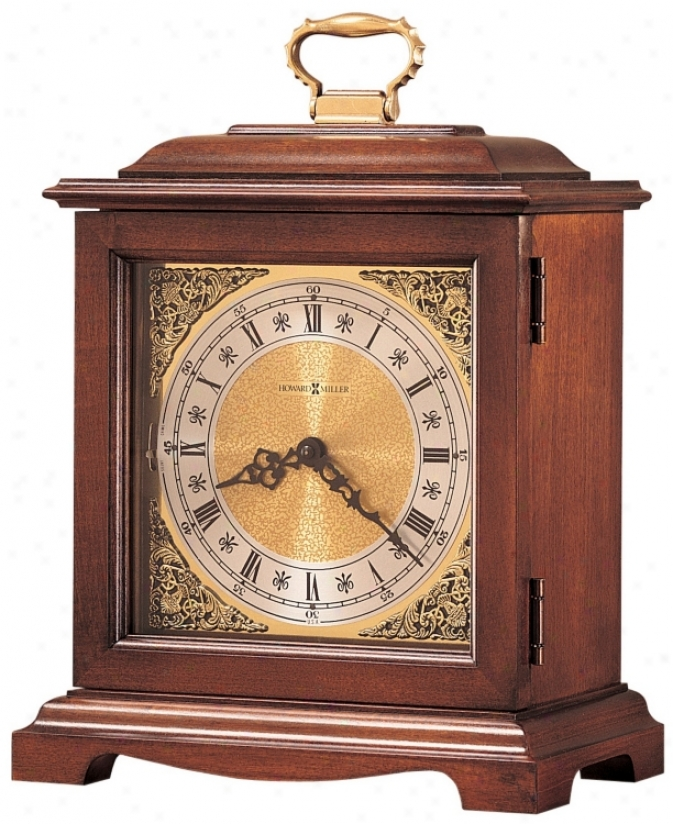 "Howard Miller Graham Bracket Iii 14 1/4"" High Tabletop Clock (r3926)"