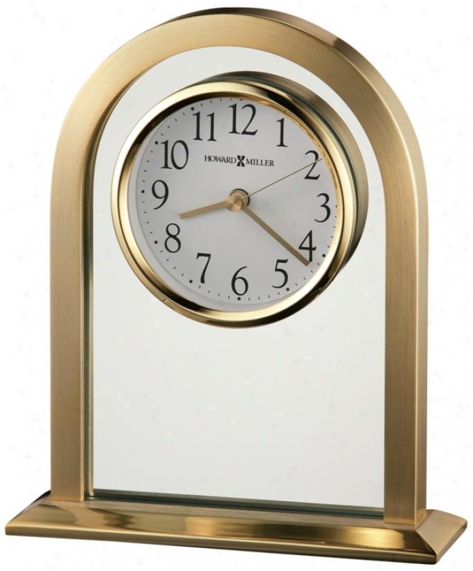 "Howard Miller Imperial 7 1/2"" High Table Clock (r4983)"