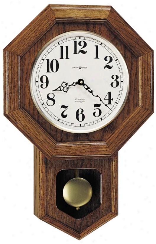 Howard Miller Katherine 21 1/4&quor; High Wall Clock (m8710)