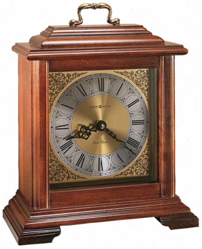 "Howard Miller Medford 11 1/2"" High Tabletop Clock (r3925)"