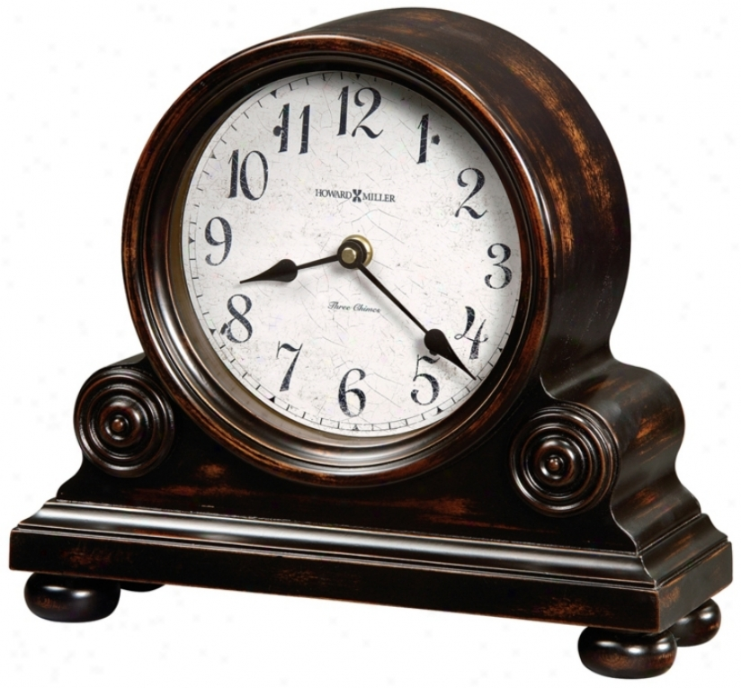 "Howard Miller Murray 12 1/4"" Wide Tabletop Clock (r4927)"