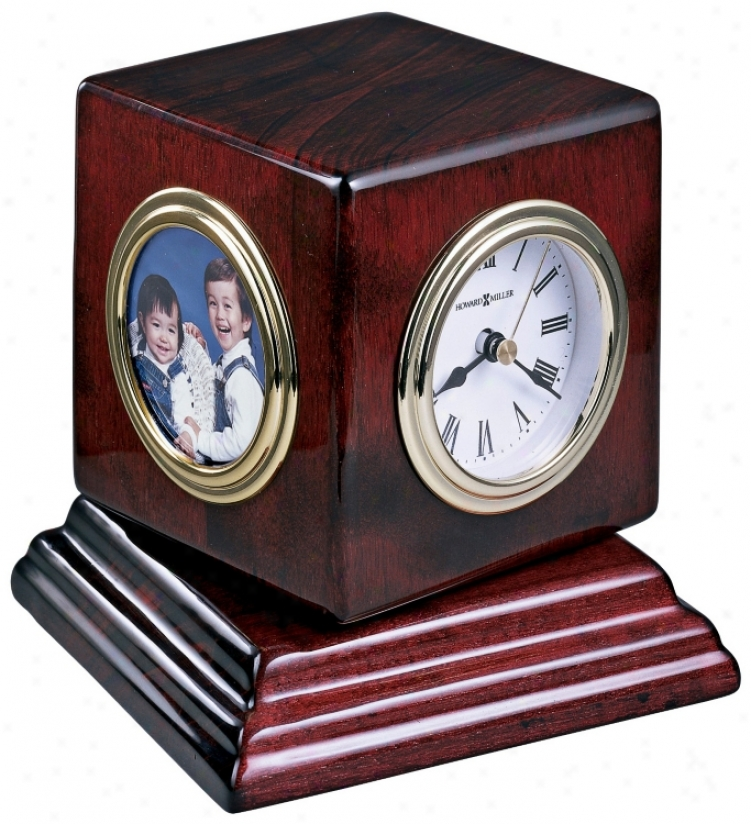 "Howard Miller Reuben 4 3/4"" High Desk Clock (r4960)"