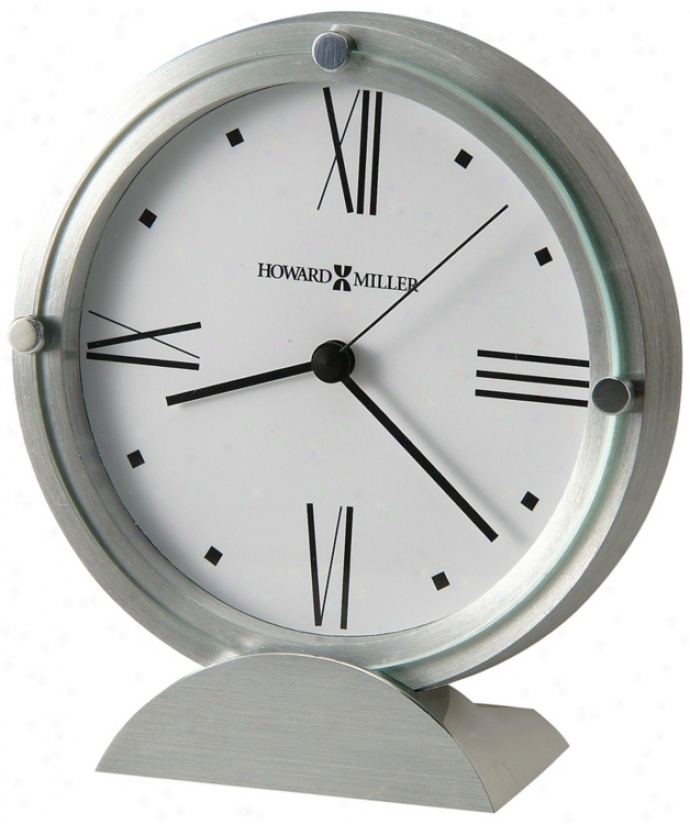 "Howard Miller Simon Ii 6 1/4"" High Clock (r5029)"