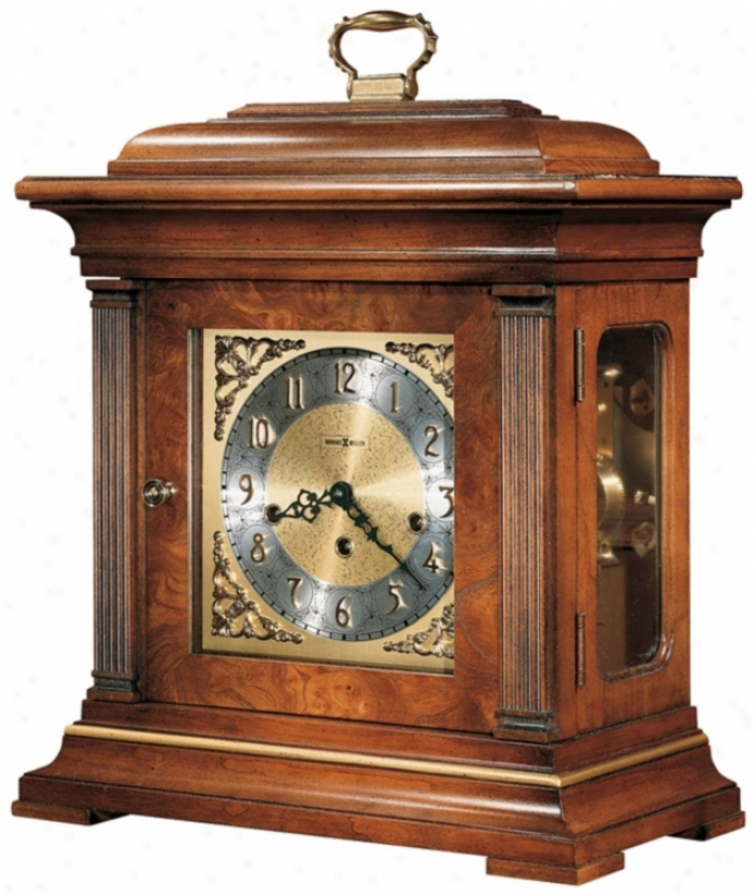 "Howard Miller Thomas Tompion 18 1/4"" High Tabletop Clock (r3923)"