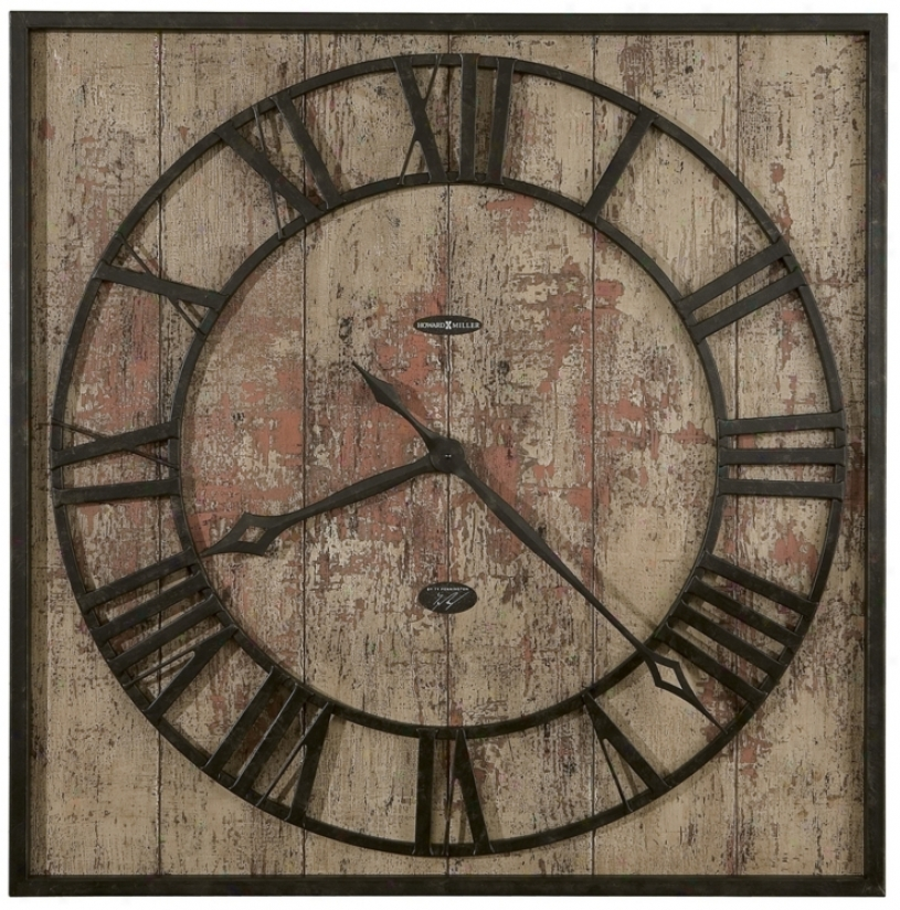 "Howard Miller Ty Pennington Talmage 35"" High Wall Clock (m9060)"