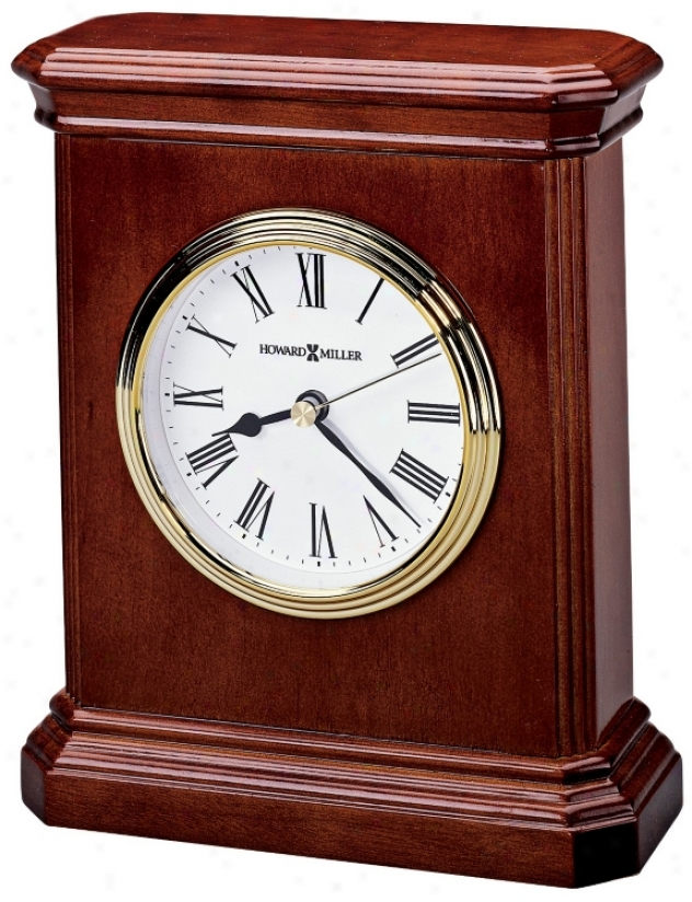 "Howard Miller Windsor 7"" High Carriage Table Clock (r4974)"