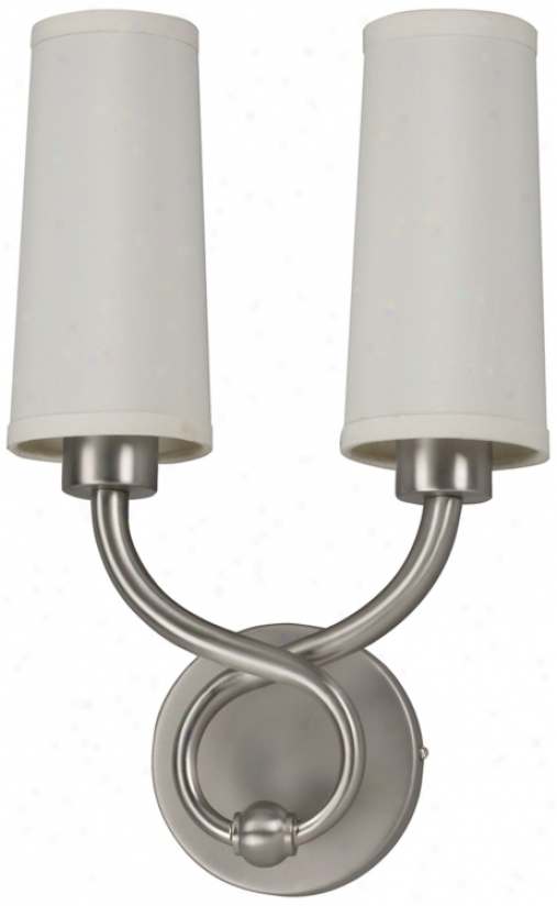 """Hudson Collection 15 1/2"""" High Energy Efficient Wall Mulct (m2249)"""