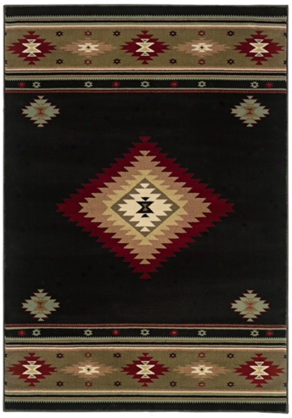 "Hudson Dark 1' 10&qquot;x3' 3"" Area Rug (j1590)"